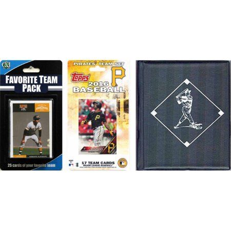 C Collectables MLB Boston Red Sox Licensed 2016 Topps Team Set and Favorite Player Trading Cards Plus Storage Album