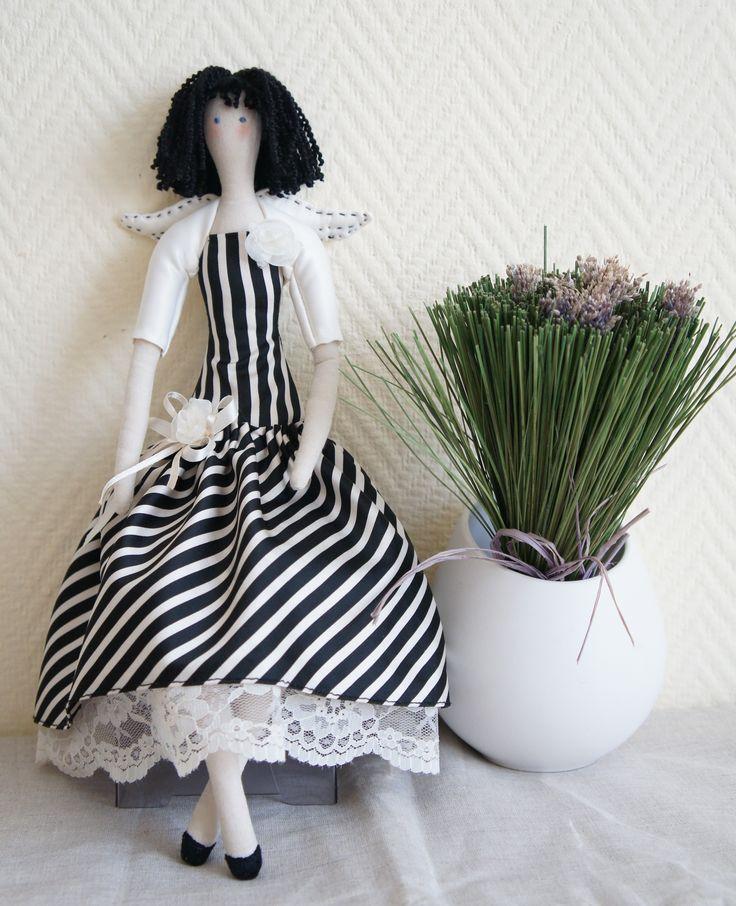 """Кукла текстильная ручная работа  Тильда Жаклин  F""""iva"""