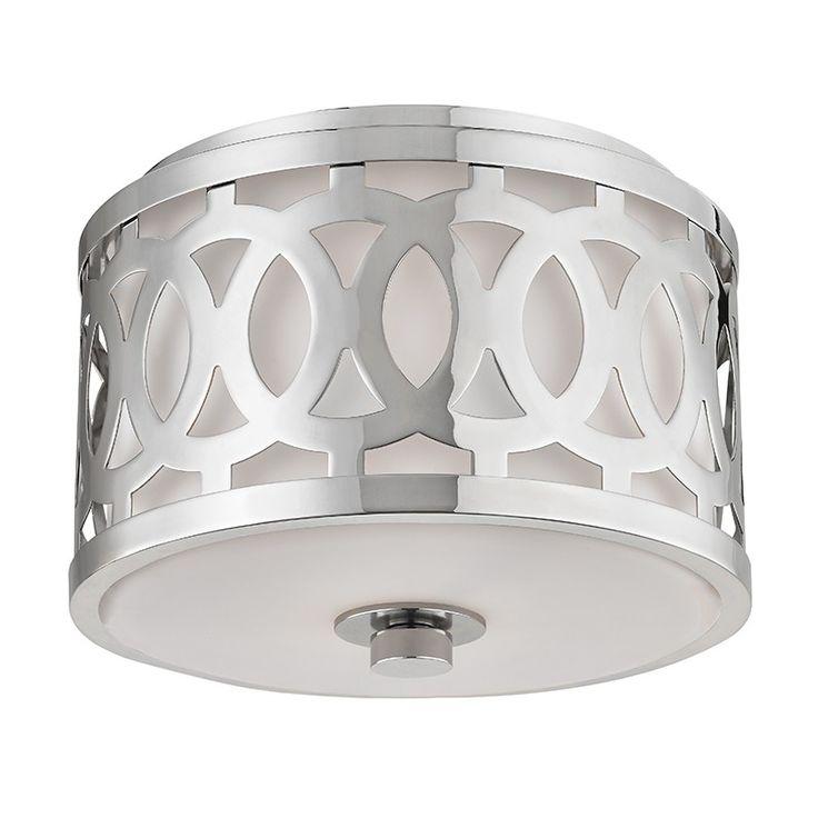 Hudson valley lighting genesee 1 light flush mount ceiling light