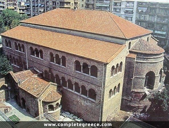 Achiropiitos Church - Thessaloniki - Thessaloniki - #Greece