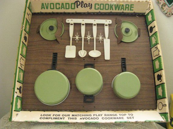 Childs Vintage Toy Cookware Set By Chein Burlington N J Etsy Cookware Set Toy Cookware Kitchenware Set