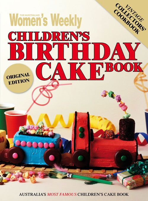 The Australian Women's Weekly Children's Birthday Cake Book is a cultural institution, particularly for children (and parents) of the '80s and '90s.