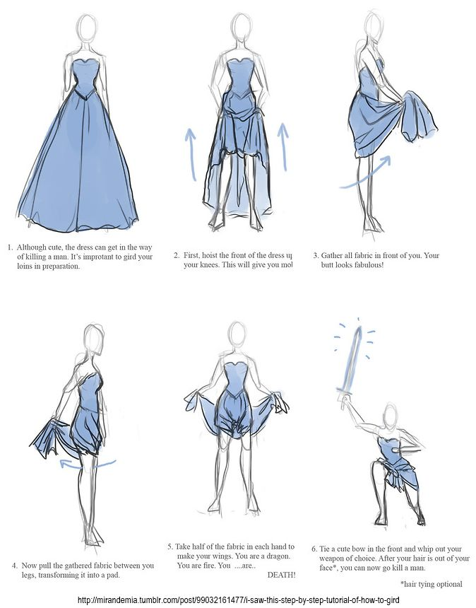 For those Sword girl fighters that still want to look pretty.
