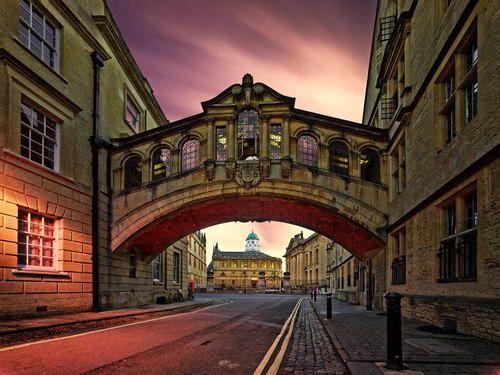 Bridge of Sighs, Oxford, England photo by yunli