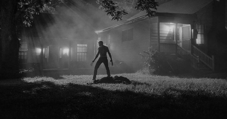 Logan Kills in Deadly New Wolverine 3 Photo -- Hugh Jackman is seen shirtless with his claws out in front of a house, ready to do battle in a new photo from Logan. -- http://movieweb.com/logan-movie-photo-wolverine-kills/
