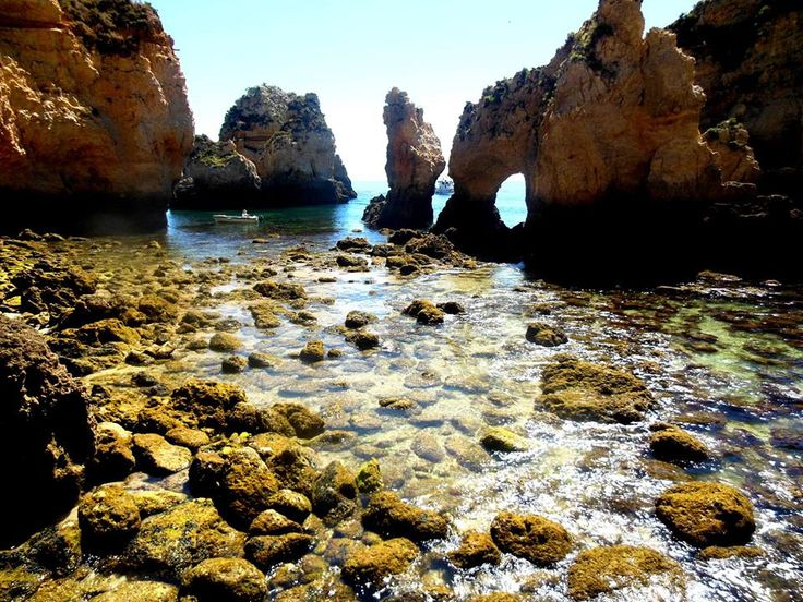 Praia Do Camilo Lagos ,Portugal!