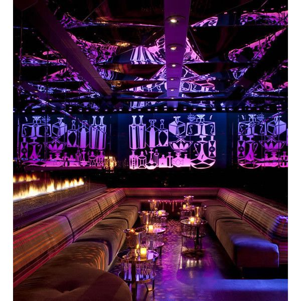 Vanity Nightclub At Hard Rock Hotel Casino Las Vegas Interior Design Liked On Polyvore