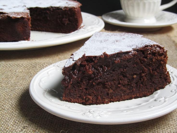 Ananás e Hortelã: Bolo de chocolate e ricota