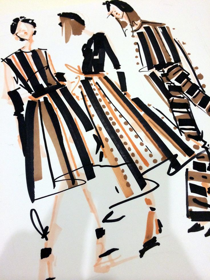 Stripes & Dots, by Jenny M Walton, Markers and Microns