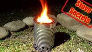 DIY How to Make a Wood Gas Stove