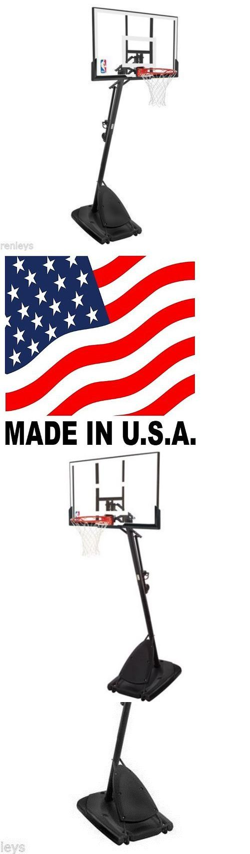 Backboard Systems 21196: Polycarbonate Basketball System Spalding 54 Adjustable Hoop Backboard Net Pole -> BUY IT NOW ONLY: $245.98 on eBay!