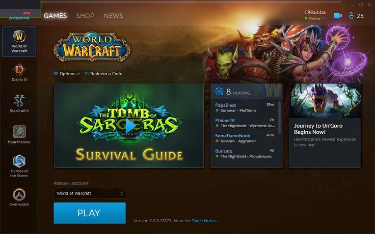 old artwork battle net how to change? #worldofwarcraft #blizzard #Hearthstone #wow #Warcraft #BlizzardCS #gaming