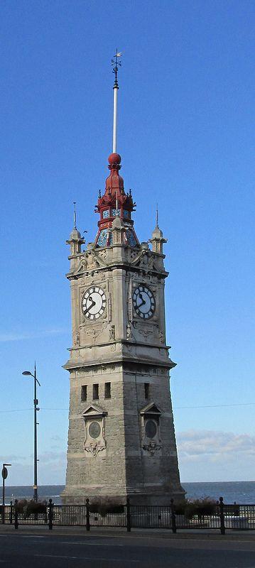 Clock tower, Margate, England.