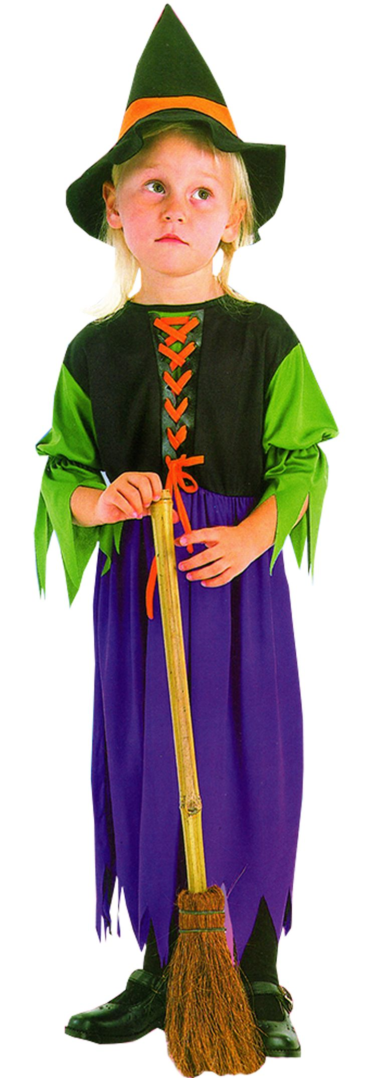 Storybook Witch Costume, Includes; Robe and Hat. #Halloween #Fancy #Dress #Costume #Girls #Toddler #Outfit #Witch