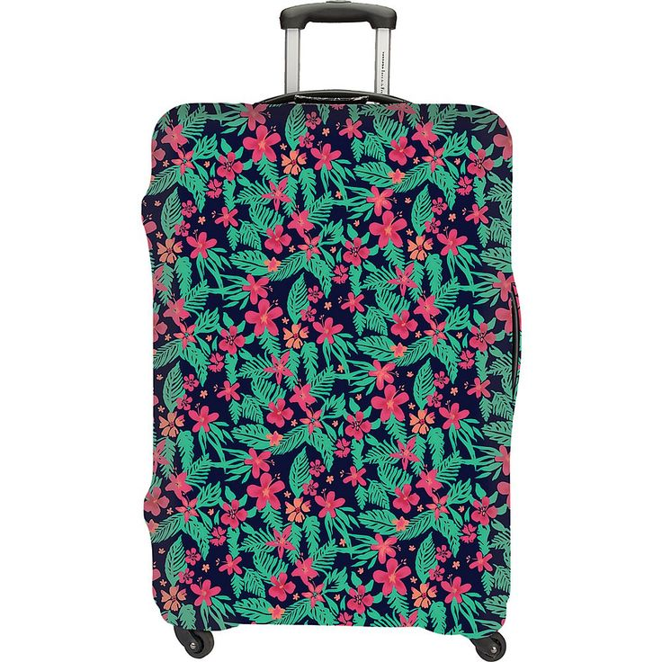 Travelon Luggage Cover Large (Coral Floral)