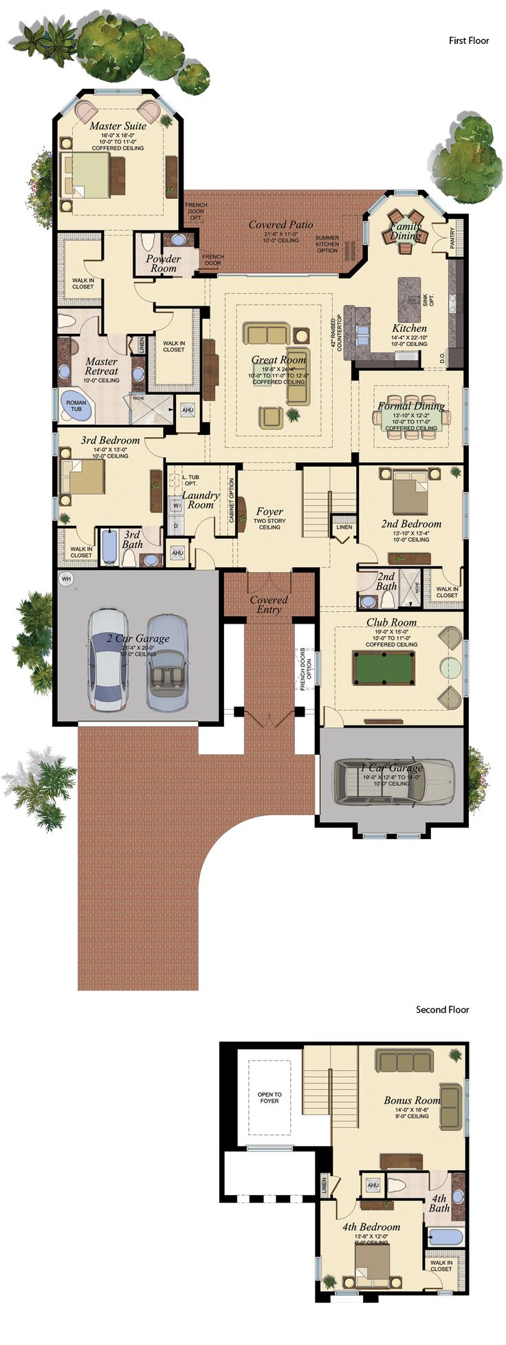 CARLYLE GRANDE/753 Floor Plan (Large View)