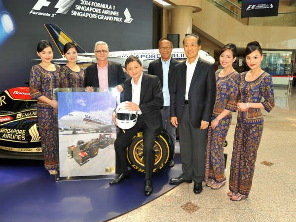 Win Formula 1 Green Room Tickets By Singapore Airlines!