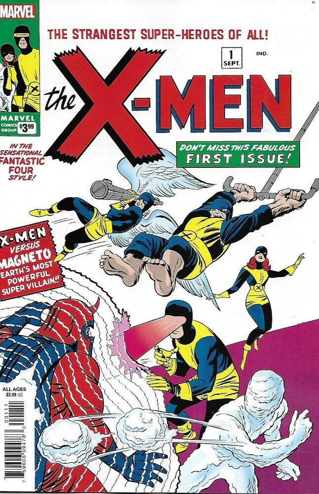 Details About X Men Comic Issue 1 Facsimile Classic Reprint 2019 Stan Lee Jack Kirby Reinman Valuable Comic Books Silver Age Comics Comic Book Superheroes