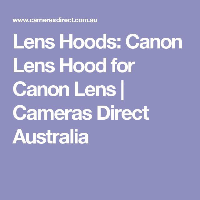 Lens Hoods: Canon Lens Hood for Canon Lens | Cameras Direct Australia