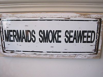 Mermaids-Smoke-Seaweed-Sign-Custom-Wooden-Sign-Beach-Decor-Coastal-Home