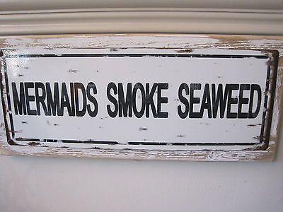 Mermaids-Smoke-Seaweed-Sign-Custom-Wooden-Sign-Beach-Decor-Coastal-Home