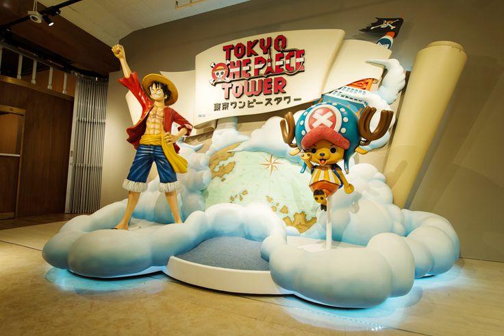 Conoce el nuevo parque temático de One Piece que podemos encontrar en la mismísima Tokyo Tower para comemorar el 15 aniversario de la saga.