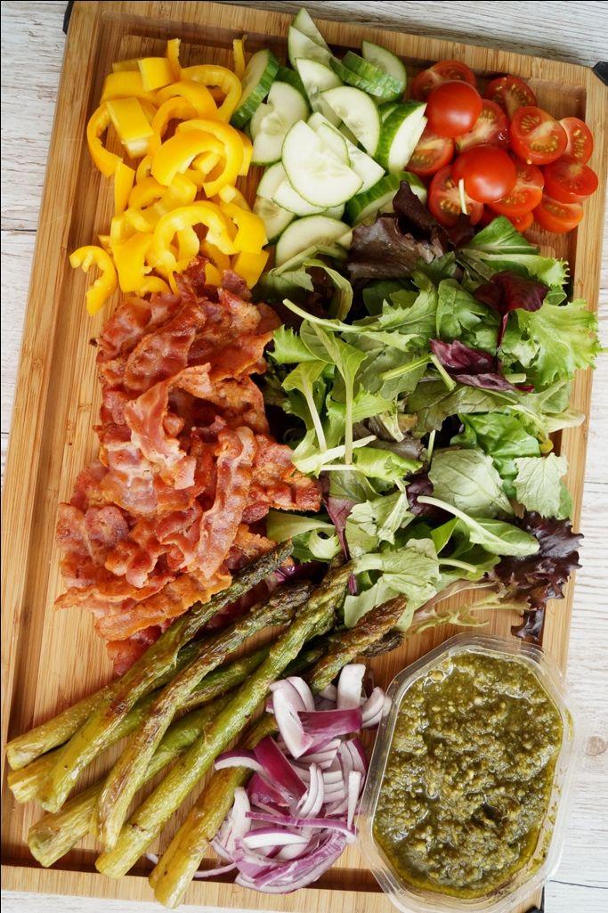 Bland selv salat - nem, sundt og lækkert hverdagsmad.