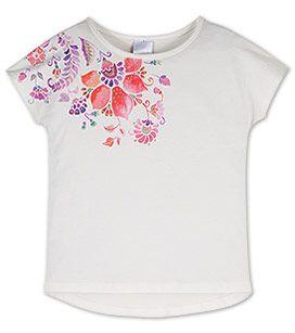 Zomer 17 Meisjes Shirt van biokatoen met korte mouwen in crème –  Voordelig Online bij C&A