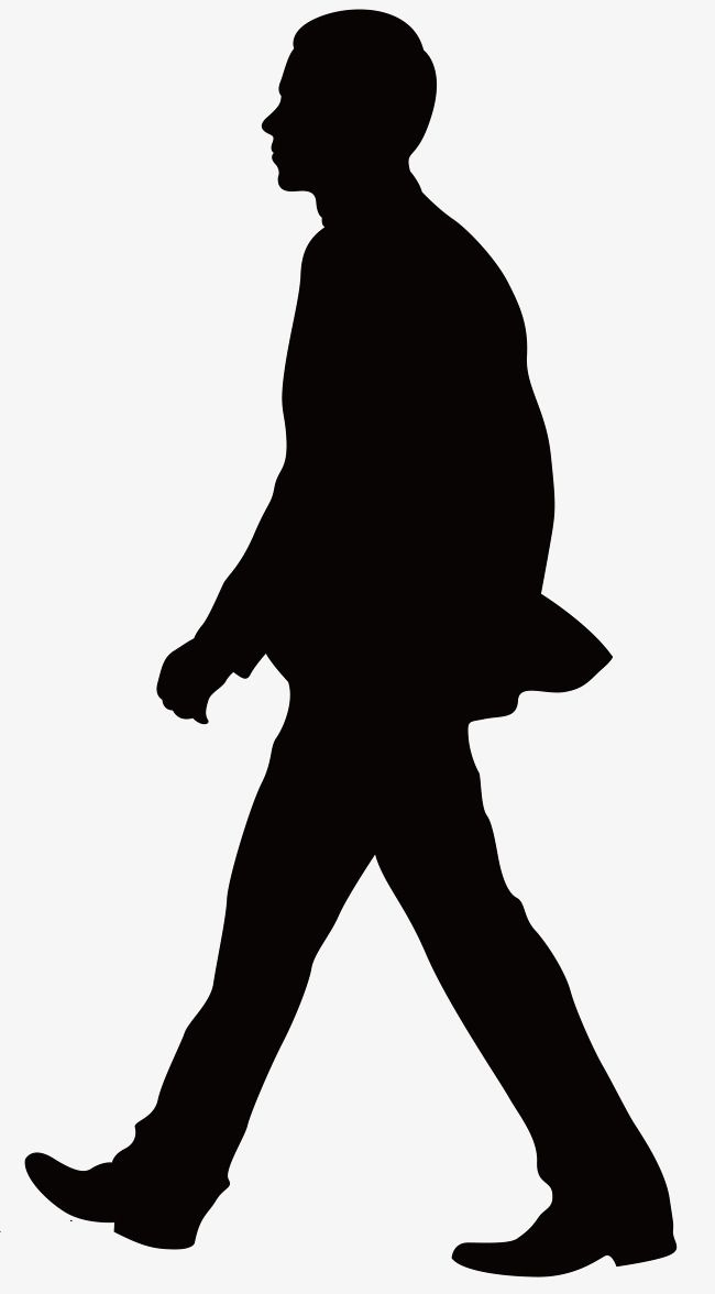 Man Silhouette Character The Man Silhouette Png And Vector With