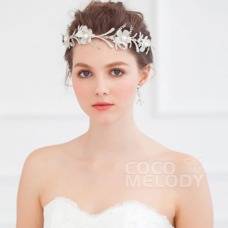 Unique Bridal Headpieces: Unique Ivory Imitation Pearl Wedding Barrette Wedding