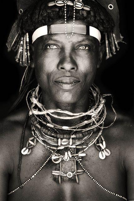 woman of the Ovakakaona tribe / northern namiba by abgefahren2004, via Flickr