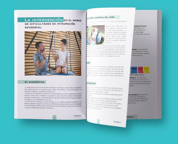 Libro Blanco De La Integración Sensorial Hoptoys Actividades Propioceptivas Libro Blanco Integracion