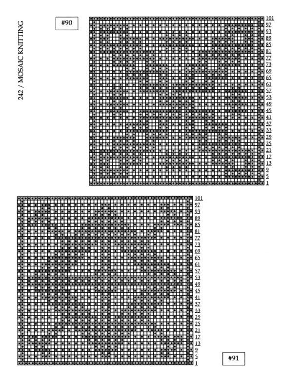 Mosaic Knitting Pattern Generator : 10+ images about Mosaic Knitting on Pinterest Knitting, Stitches and Yarns