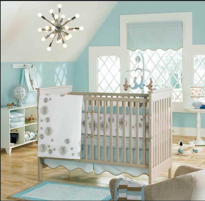Babybett Design Mit Deckenleuchten Spots Babyzimmer Ideen Designer
