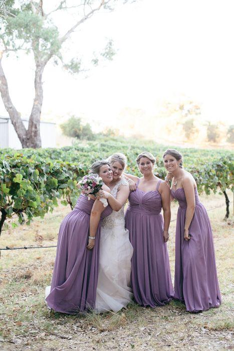 Gorgeous natural bridesmaids