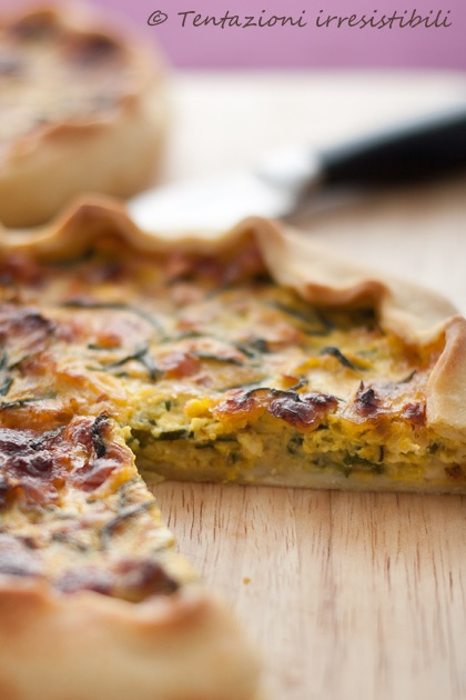 torta vegetariana zucchine, asiago e porri        #recipe #juliesoissons