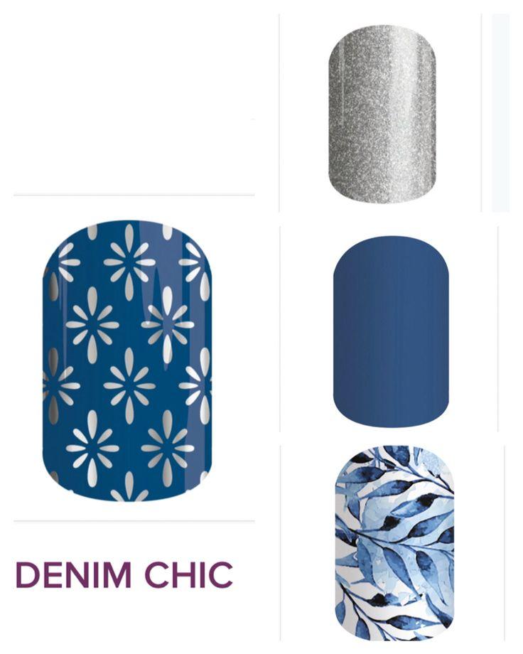 Jamberry Denim Chic combinations