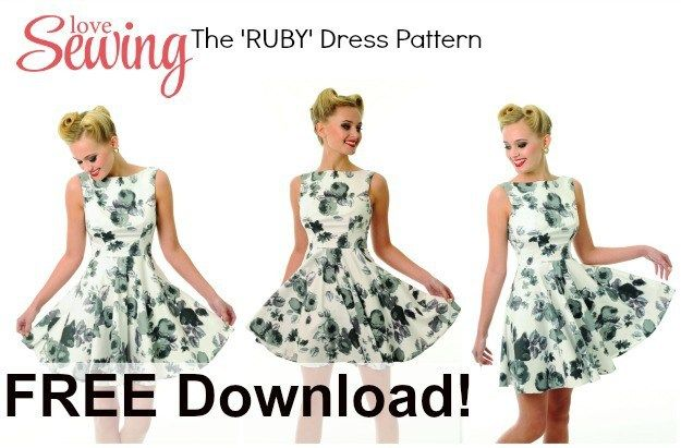 Free Dress Pattern: The Ruby Dress | My Handmade Space