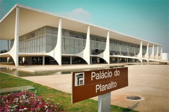 Palácio do Planalto - Brasília - DF, Brasil