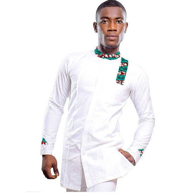 Private custom men fashion print stand collar tops dashiki clothing male african shirt trending africa clothing for mala