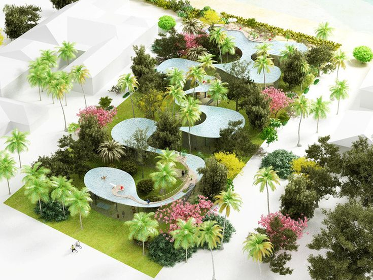 5osA: [오사] :: *플로리다 풀하우스 프로포즈 [ NL architects ] pool home proposals in florida