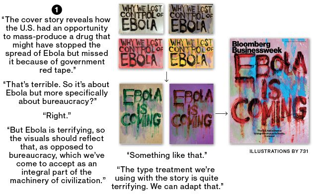 Businessweek's Ebola Cover: How We Made It - Businessweek (25.09.2014)