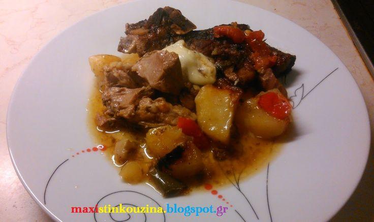 Μάχη στην κουζίνα: Γκιούλμπασι Με Μοσχάρι - Αρνί Και Πιπεριές Στη Γάστρα