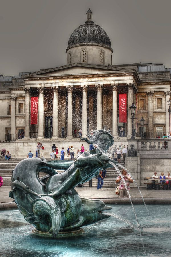 Trafalgar Square, London, England | by Francisco Mula, via 500px