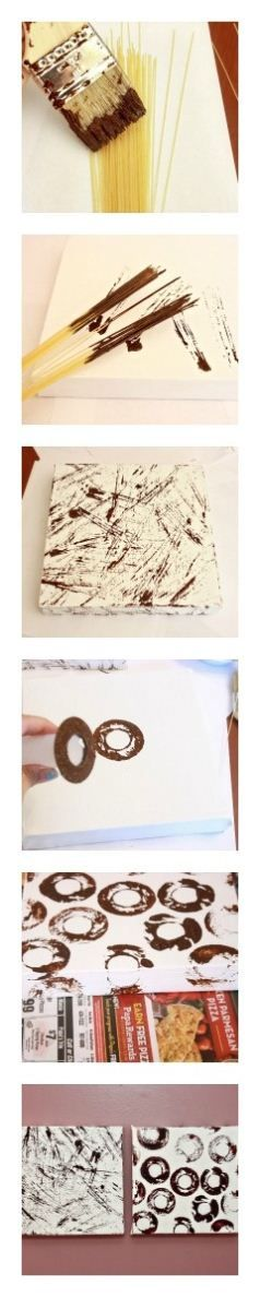Pretty and simple DIY art for the home
