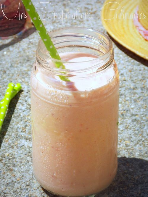 smoothie aux fraises mangue 1