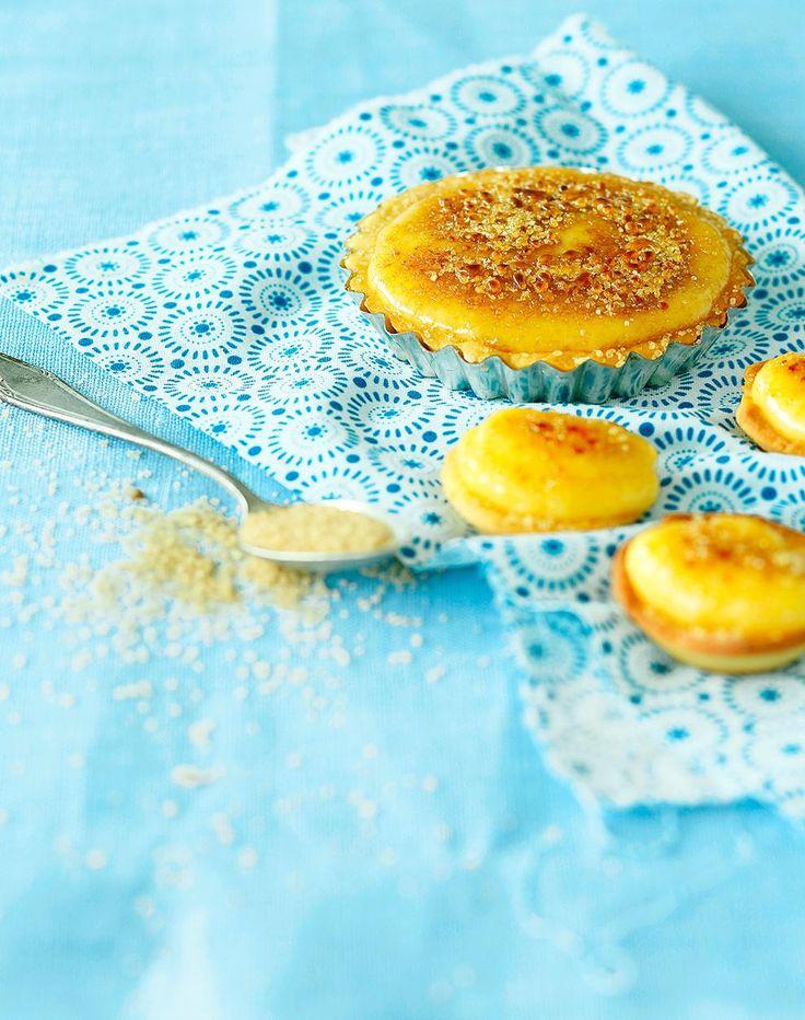 Crème brûlée -tartaletit