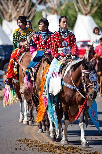 Crow Native American Parade 2009   Photo by Adam Sings In The Timber