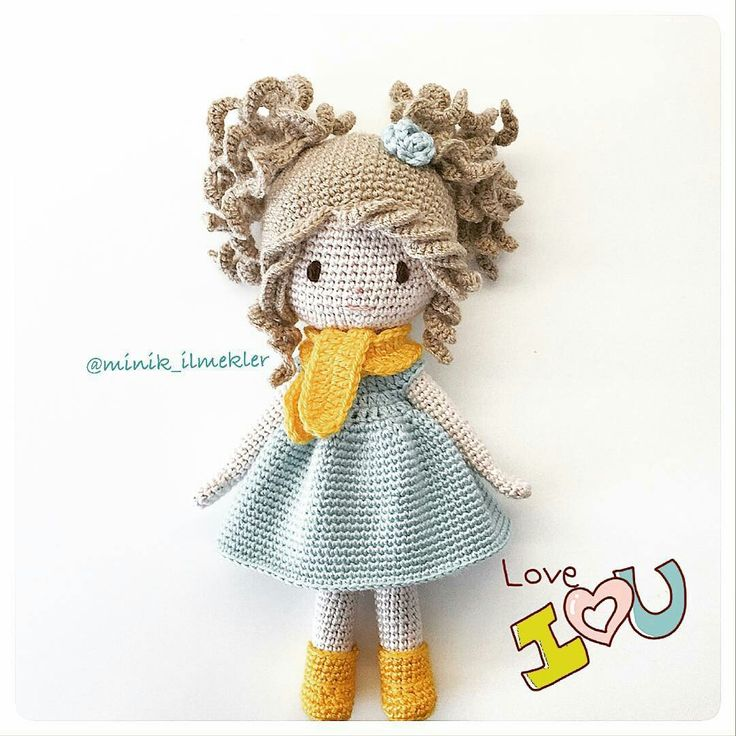 2924 best Muñecas crochet images on Pinterest | Patrones amigurumi ...