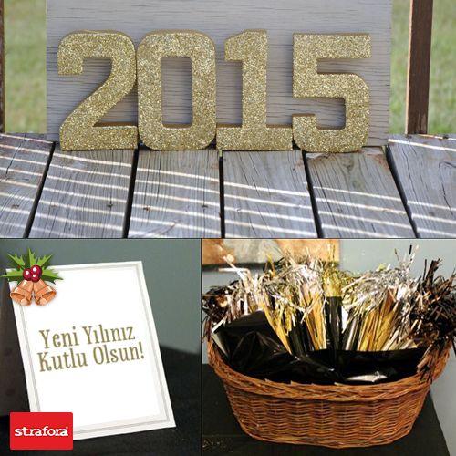 Herkese mutlu ve sağlıklı yeni bir yıl dileriz... #Yeniyıl #Yılbaşı #Strafora #NewYear #Mutluluk #Kutlama #Happy